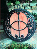 Vesica Pisces Chalice Well Glastonbury