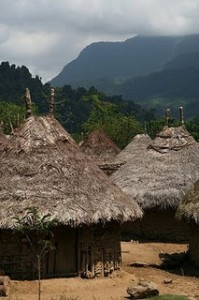 Kogi village, Columbia