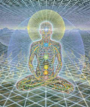 Theologue by Alex Grey