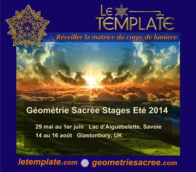 Stage Géométrie Sacrée Le Template