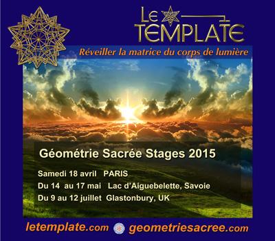 Stage Géometrie Sacrée Le Template