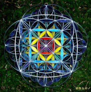 The Template, 3d Flower of Life