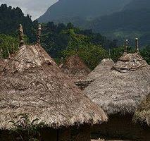Kogi village, Columbia
